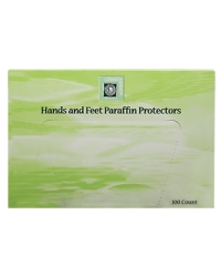 Top view of Clean+Easy hands and feet protectors box dispenser