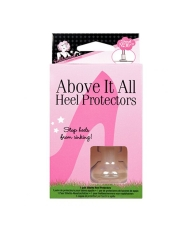 Front view of a sealed wall-hook ready pack of fashion secrets heel protectors