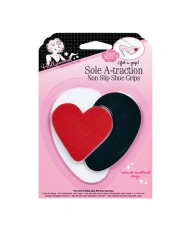 Closeup of Hollywood Fashion Secrets Sole A-traction Shoe Grips sealed packaging