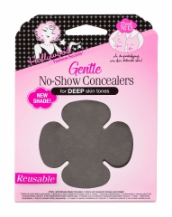 Frontage of Hollywood Fashion Secrets Gentle No-Show Concealers for Deep Skin Tone wall-hook ready pack