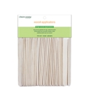 Clean + Easy Large Wood Applicator Spatulas for Hair Removal in a pack