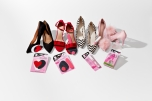 A comprehensive view of stilettos with a different kind of foot care item from Hollywood Fashion Secrets